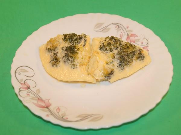 Омлет с брокколи в пароварке