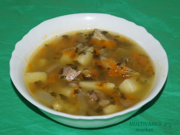 какой суп можно приготовить рецепт в мультиварке