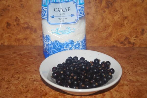 Ингредиенты для смородинового джема