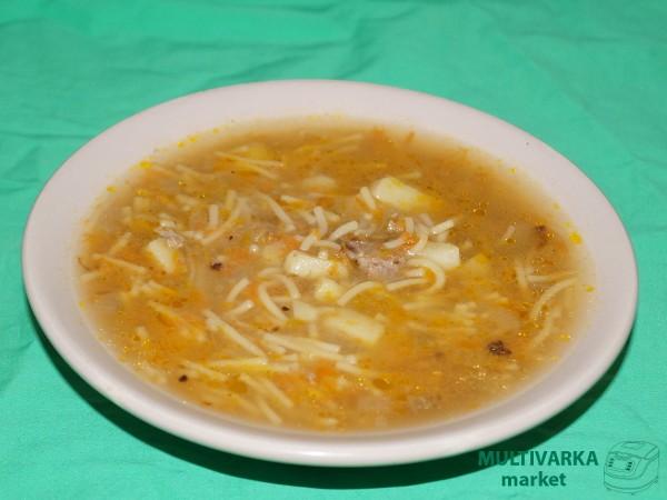 Суп с вермишелью и курицей рецепт в мультиварке