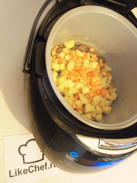 Рецепты жаркого в мультиварке пошагово