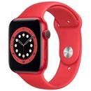 Умные часы Apple Watch Series 6 GPS 44мм Aluminum Case with Sport Band