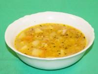 Гороховый суп в пароварке