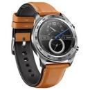 Умные часы HONOR Watch Magic (stainless steel, leather strap)