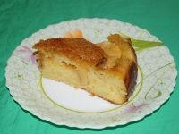 Яблочный пирог на простокваше в мультиварке