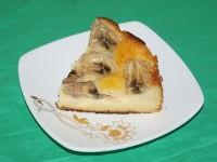 Йогуртовый пирог с бананом в мультиварке