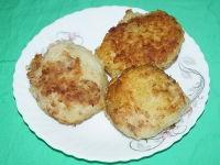 Картофельные зразы с мясным фаршем в мультиварке