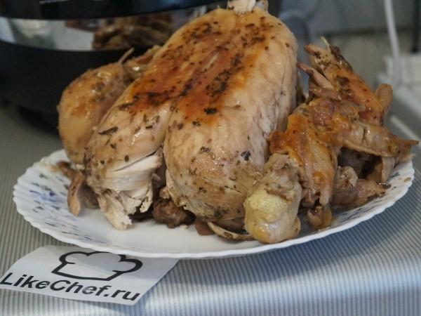 целиковая курица в мультиварке рецепты с фото гораздо