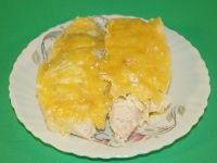Куриная грудка в сметане с сыром в пароварке