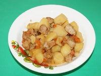 Мясо с картофелем в мультиварке