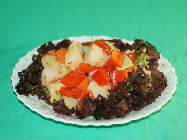 рецепты овощного рагу в пароварке