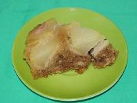 Пирог-перевертыш с грушами в мультиварке