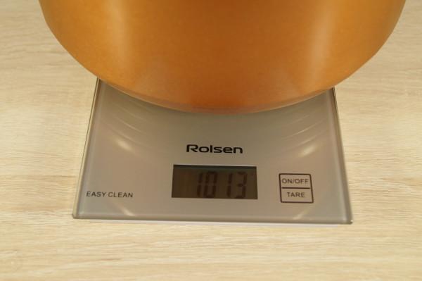 Вес чаши