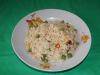 Рис по-гавайски в мультиварке