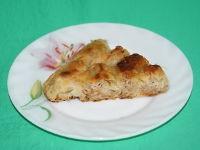 Слоеный мясной пирог в мультиварке