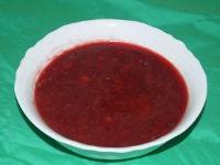 Свекольный суп с чечевицей в мультиварке