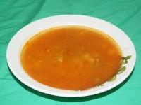 Томатный суп со свининой в мультиварке