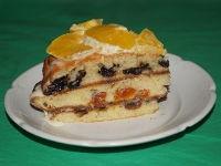 Торт с сухофруктами в мультиварке