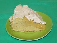 Ванильный пирог в мультиварке