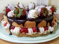 Бисквитный торт в хлебопечке